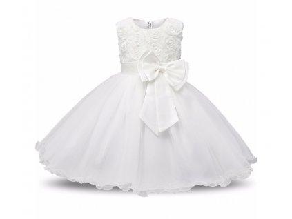 šaty white