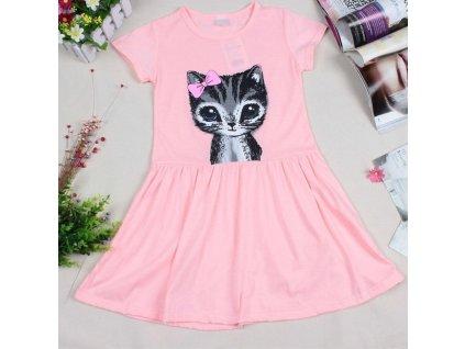 šaty pink