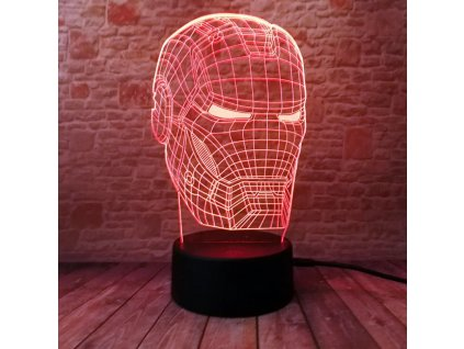 led maska iron man
