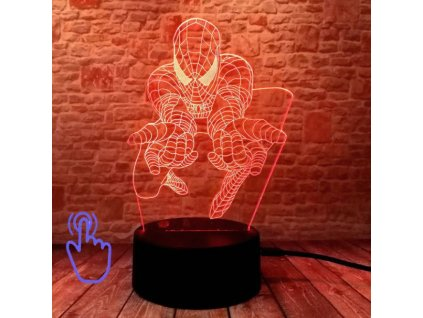 led maska spiderman 6
