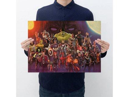 plakát avengers sestava