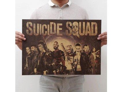plakát sebevražedný oddíl