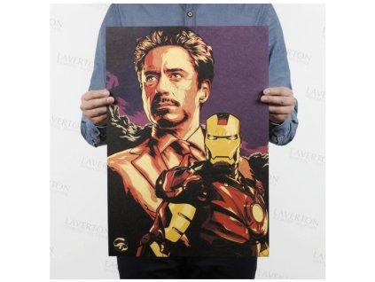 plakát Tony stark iron man