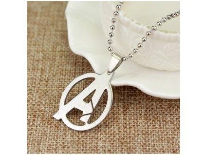 náhrdelník avengers