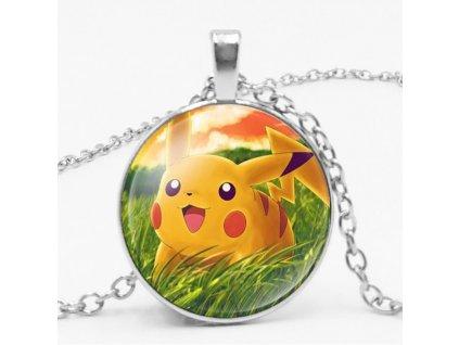 náhrdelník pokemon pikachu
