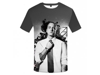 tričko eminem 3d