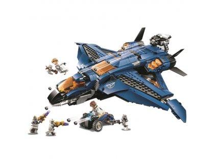 stavebnice iron man avengers letadlo