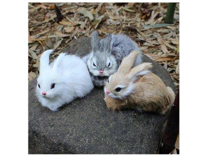 plyšák králíček