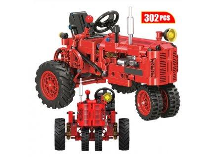 stavebnice traktor