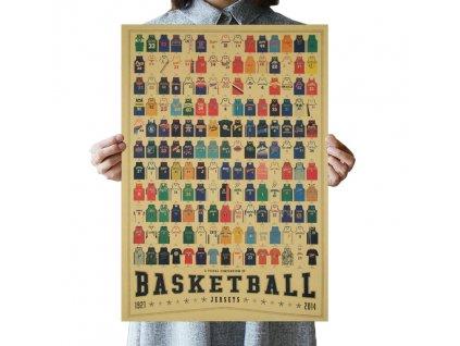 plakát basketball