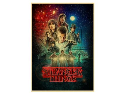 plakát stranger things 3