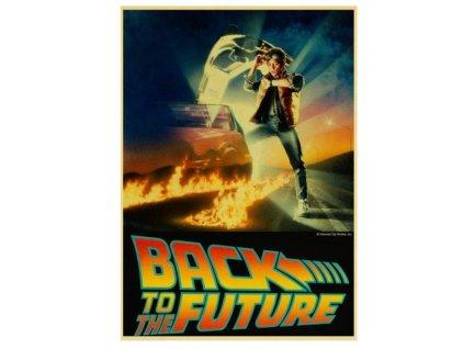 plakát zpátky do budoucnosti