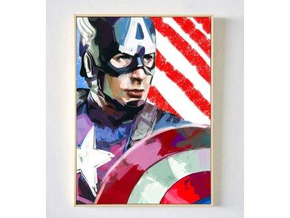 plakát kapitán amerika