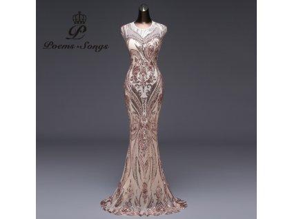 šaty gold