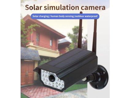 solární kamera atrapa