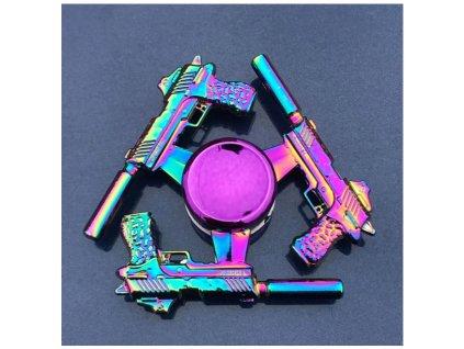 Fidget spinner pistole tlumič