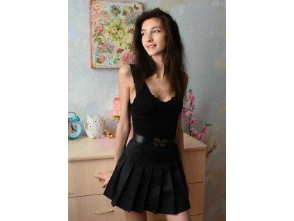 sukně black 2
