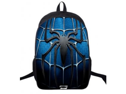 spiderman batoh blue