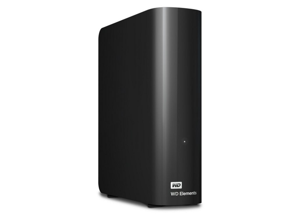 "Ext. HDD 3.5"" WD Elements Desktop 4TB USB"