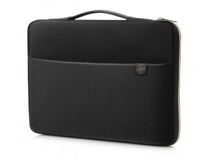 HP 15.6 Carry Sleeve Black/Gold