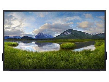 """86"""" LCD Dell C8621QT 4K IPS 16:9 8ms/1200:1/HDMI/DP/USB/3RNBD/Černý"""