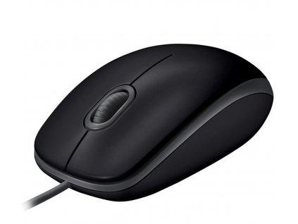 myš Logitech B110 Silent - BLACK - USB