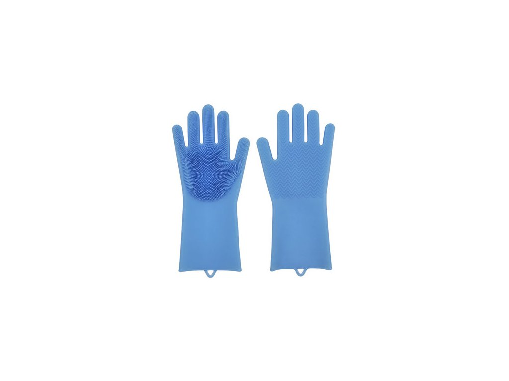 silicone gloves with wash scrubber (1)