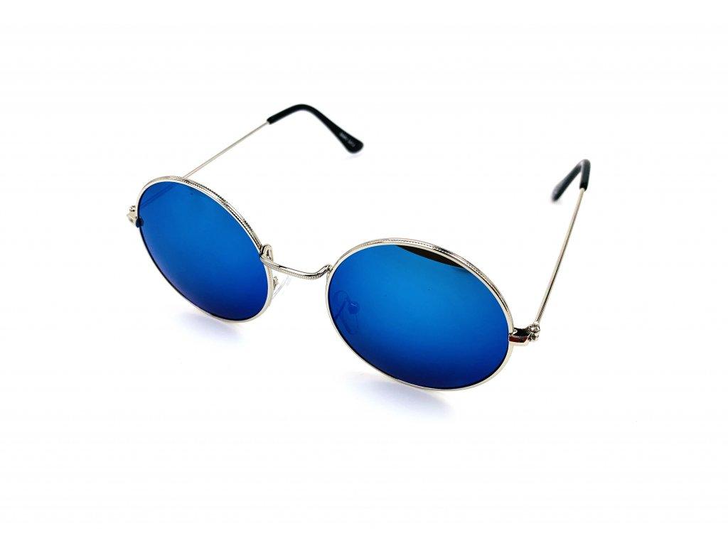 131909 slunecni bryle lenonky modre zrcadlove