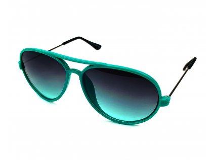 132260 detske slunecni bryle aviator zelene