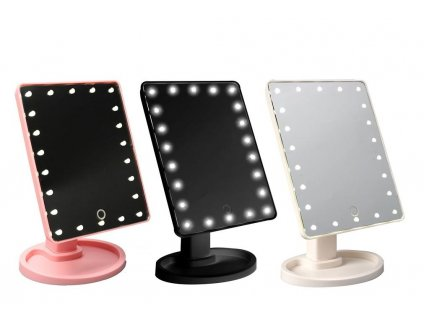 led touch screen makeup mirror 16 22 leds