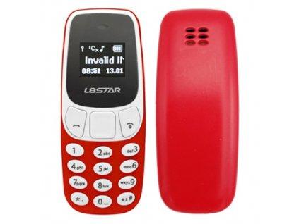 Mini mobilní telefon BM10 (Barva Modrá)