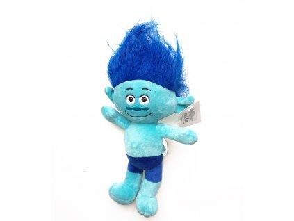 49181 plysovy troll vetvik modry