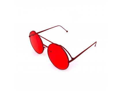 131432 4 slunecni bryle lenonky cervene