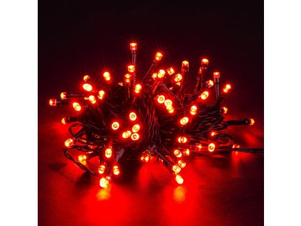 4Home Vánoční světelný řetěz červený 80 LED 1