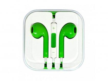 154454 sluchatka pro iphone zelena
