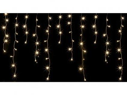 Vonkajšie vianočné LED záves - tepla biela 500 až 2000 diód