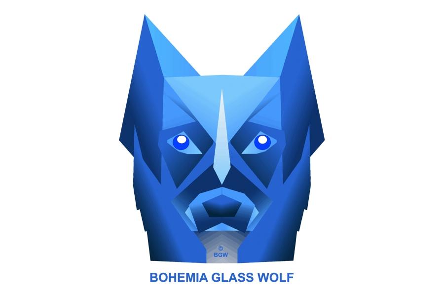 BOHEMIA GLASS WOLF