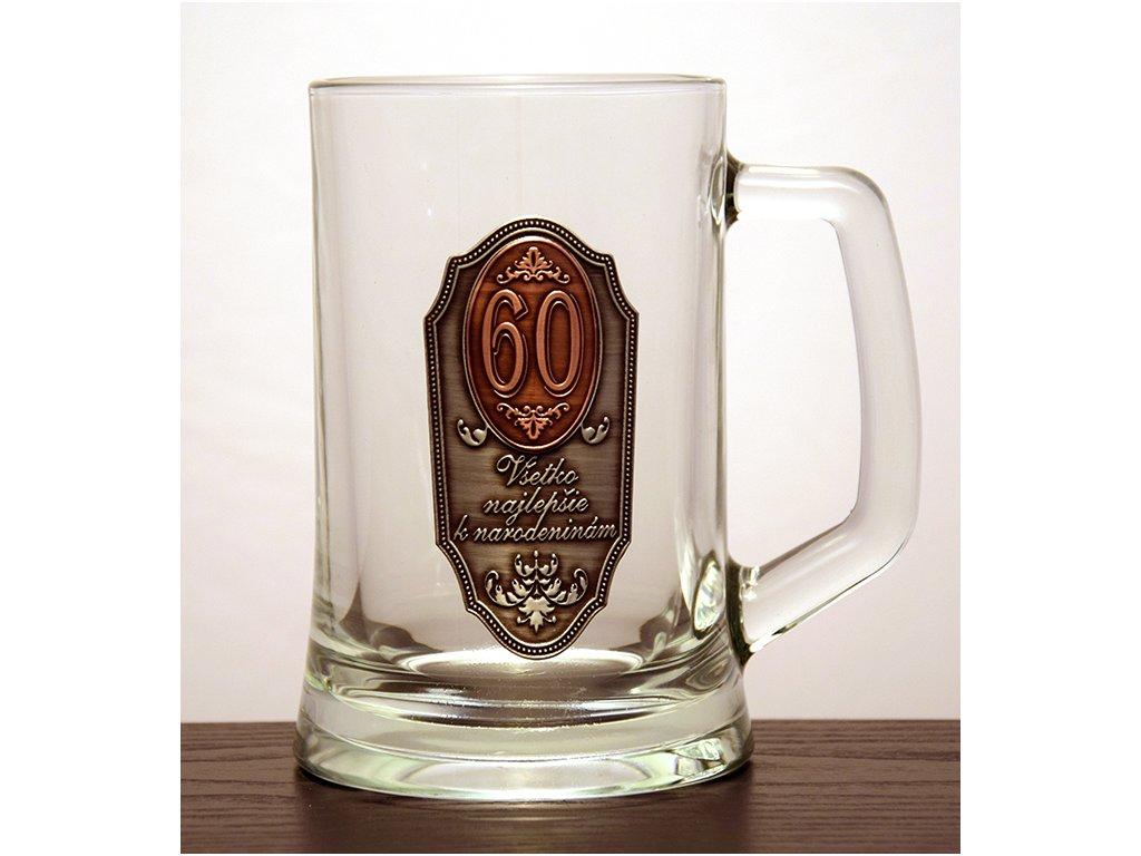 """Krígeľ Všetko najlepšie k narodeninám """"60"""""""