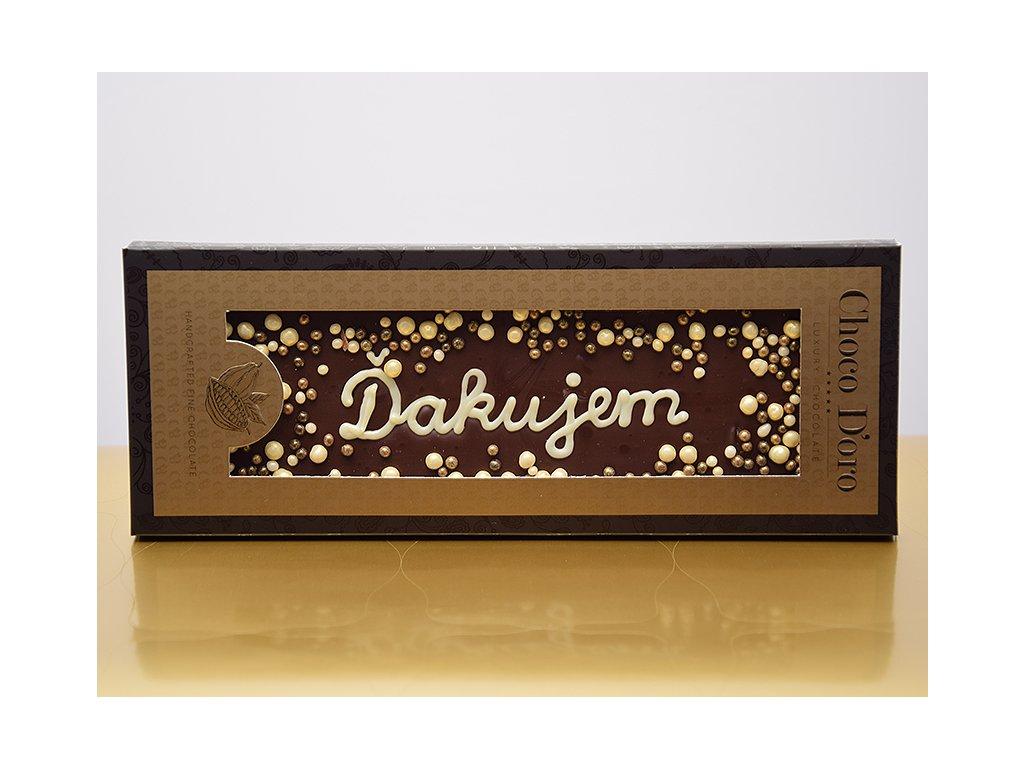 Čokoláda Choco Doro - Ďakujem