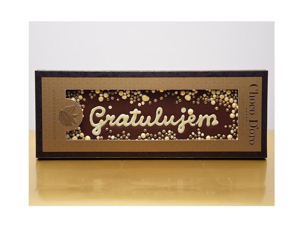 Čokoláda Choco Doro - Gratulujem