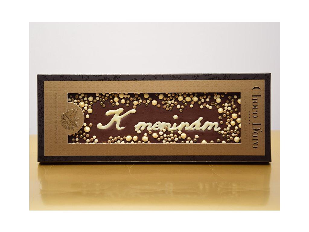 Čokoláda Choco Doro - K meninám