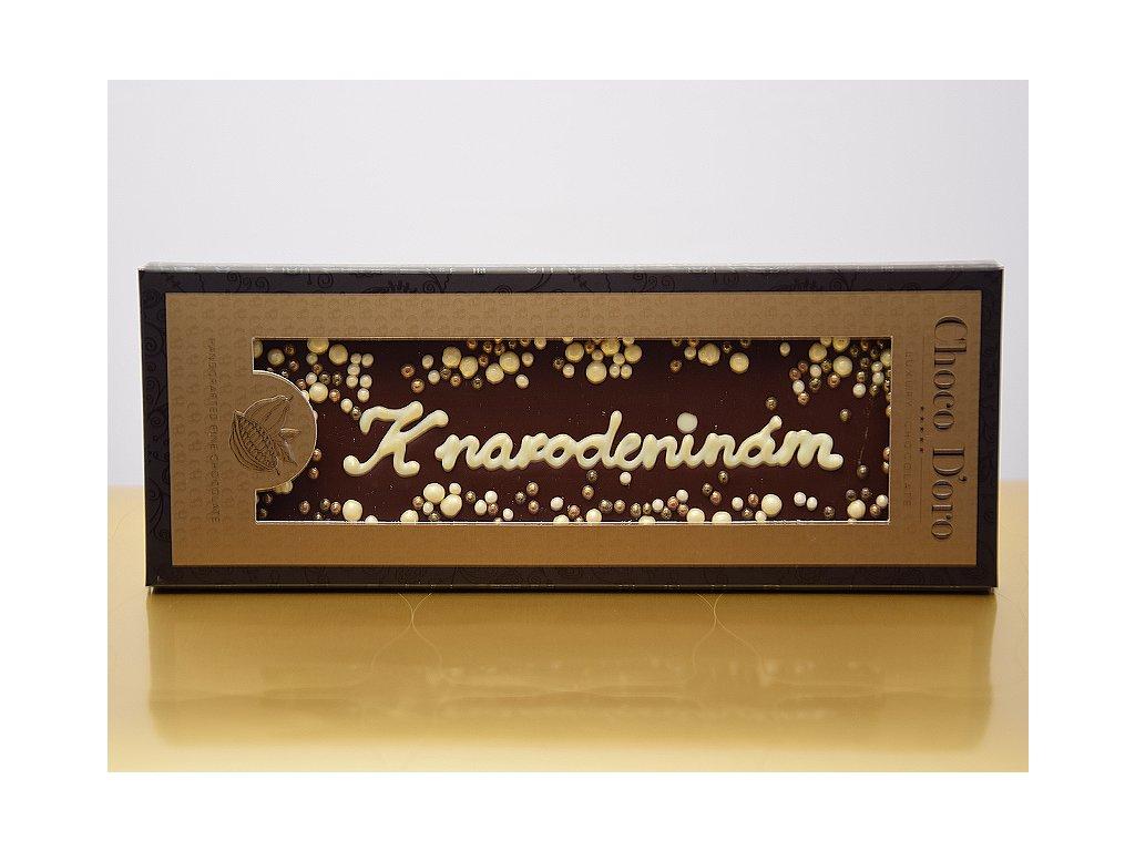 Čokoláda Choco Doro - K narodeninám