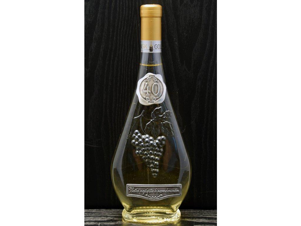 Darčekové víno Liabel skovovou etiketou