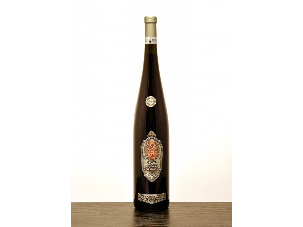 Rýnska fľaša Všetko najlepšie k meninám - červené víno