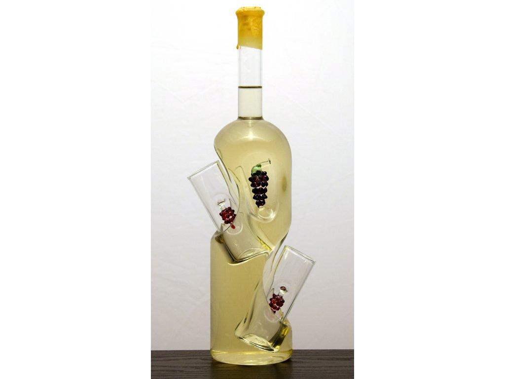 Vínna studňa malá s 2 pohármi 0,5 l