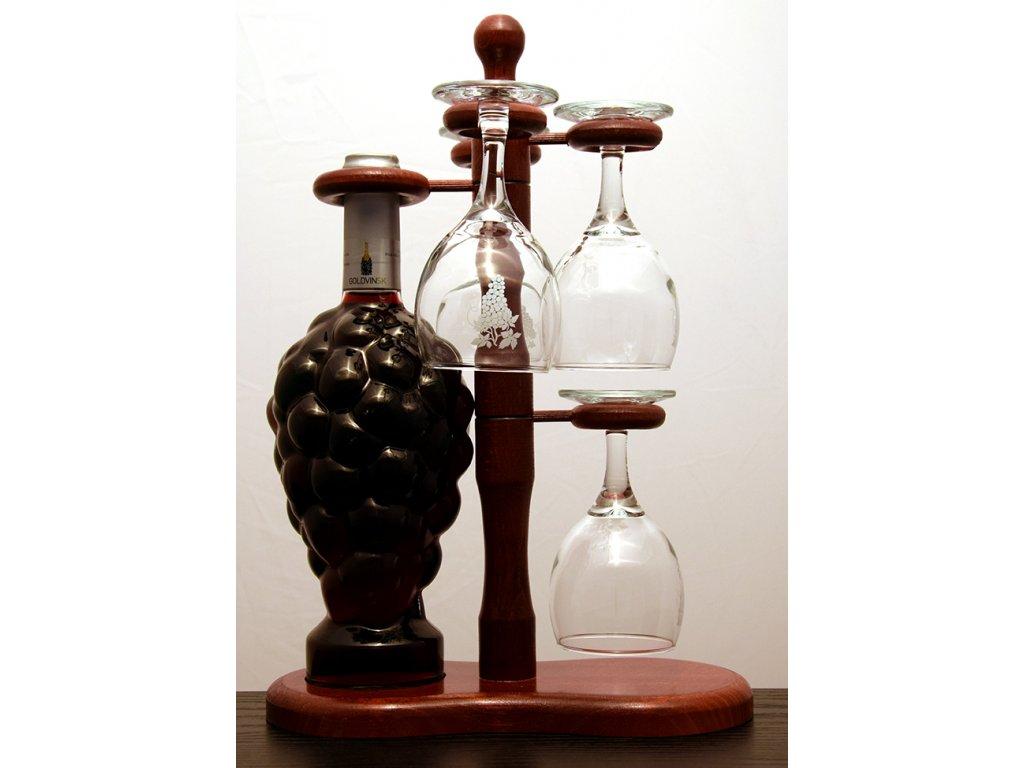 Hroznový strom 1/4 - červené víno