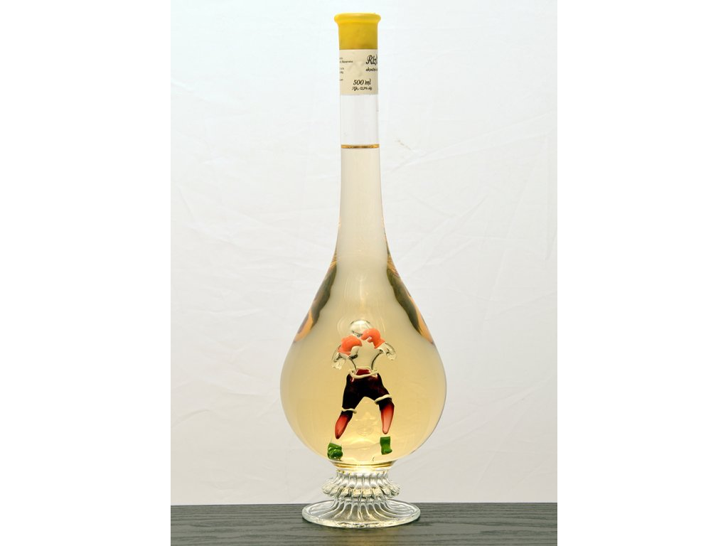 Ozdobnná fľaša kvapka, figúrka Box