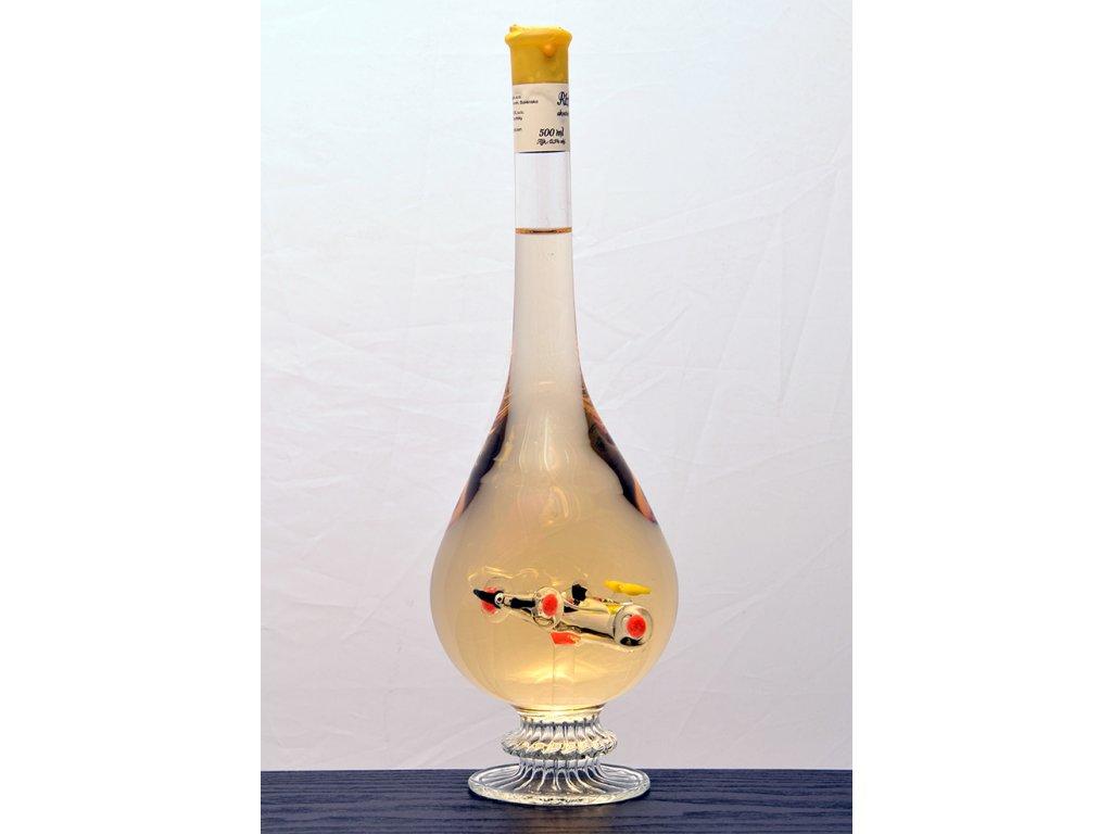 Ozdobná fľaša kvapka, figúrka Auto F1