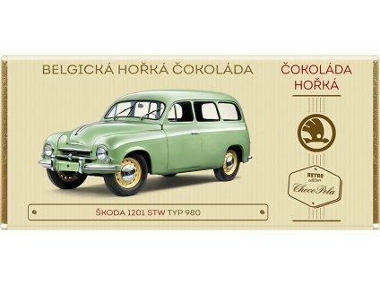Belgická čokoláda horká Škoda 1201 STW 980 Kód: 91-030