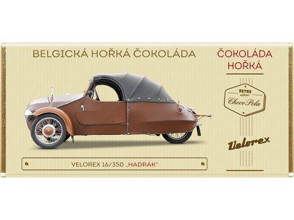 Belgická čokoláda horká Velorex Kód: 91-025